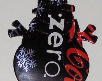 Snowman Magnet - Coca-Cola Coke Zero Soda Can (Replica)
