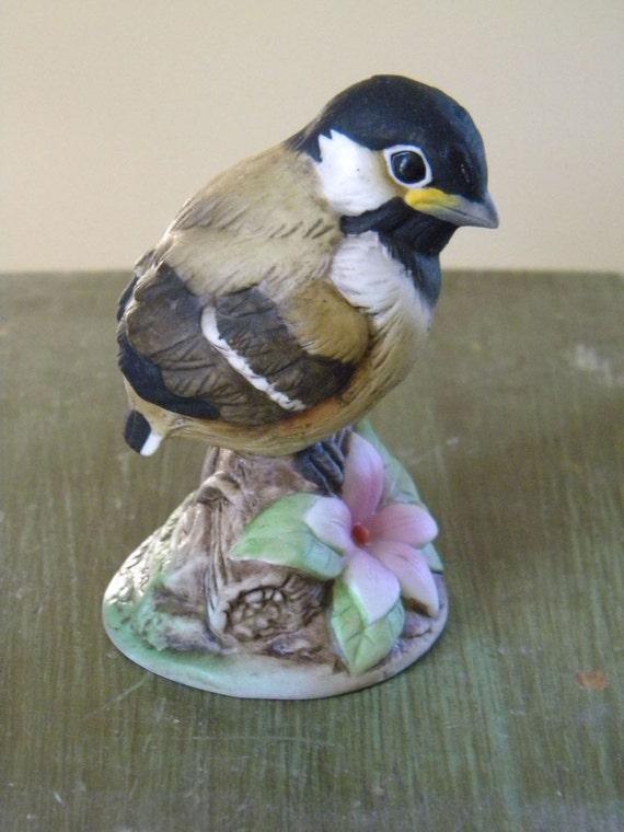 Andrea by sadek baby chickadee figurine on by windhillantiques - Chickadee figurine ...