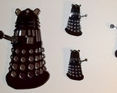 Dalek Invasion-  5 piece set of Dalek wall hangings