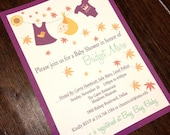 Fall Baby Shower Invitation- Digital File