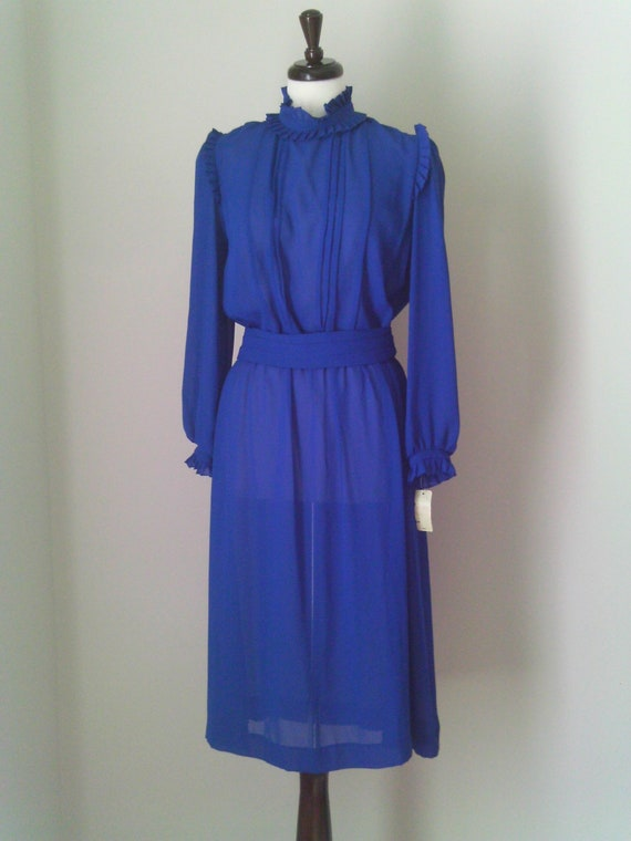 70s Royal Secretary Dress by Lady Carol