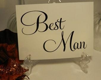 Wedding Reception - Best Man
