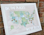 Oh the Places We've Been (We'll Go) - US Travel Map