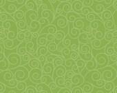 Good Life by Deena Rutter for Riley Blake Designs, Swirls Green, SKU C2884, 1 yd