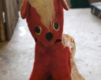 vintage stuffed animal