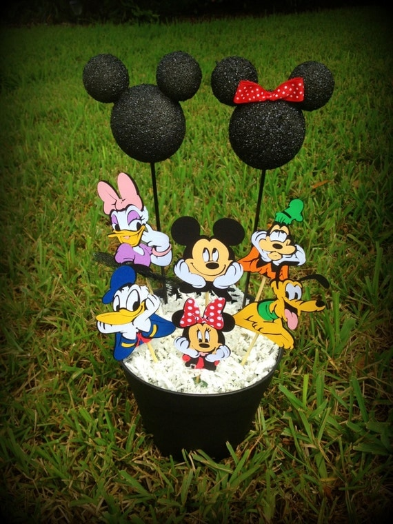 Mickey Mouse Clubhouse Party Centerpiece