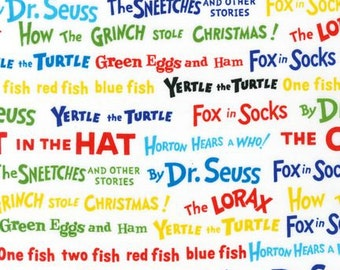Dr. Seuss Colorful Titles From Robert Kaufman