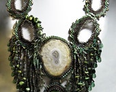 """Curacao necklace """"  created by Lynn Parpard One of a Kind Art Piece"""