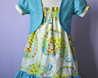 Outfit Bundle: Haven Dress and Little Misssy Bolero 12M 8Y PDF Pattern and Instructions - Value Pack