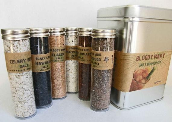 Gusto's BLOODY MARY Salt Rimmer Gift Kit - Sunday Brunch, Bridal Shower, Housewarming