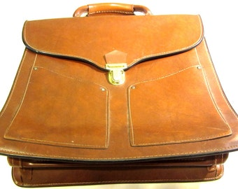 Vintage Brown Briefcase