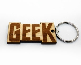 GEEK WPI Gauge, Laser Cut Wood, Keychain, Spinners Friend