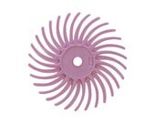 3M Radial Disc 3/4 Inch - Pumice Pink - 1 Dozen - Pre-Polishing - Polishing Finishing Tool - Jewelry Making Tool