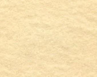 "18"" x 24"" Ivory Acrylic Felt FQ - equal to 4 Sheets Felt"