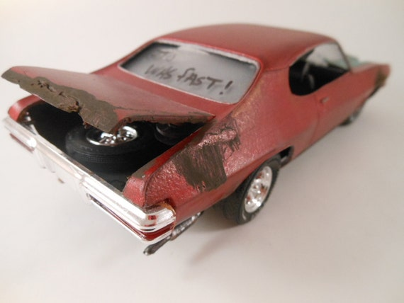 1970/71 Pontiac GTO 1/24 scale model in red
