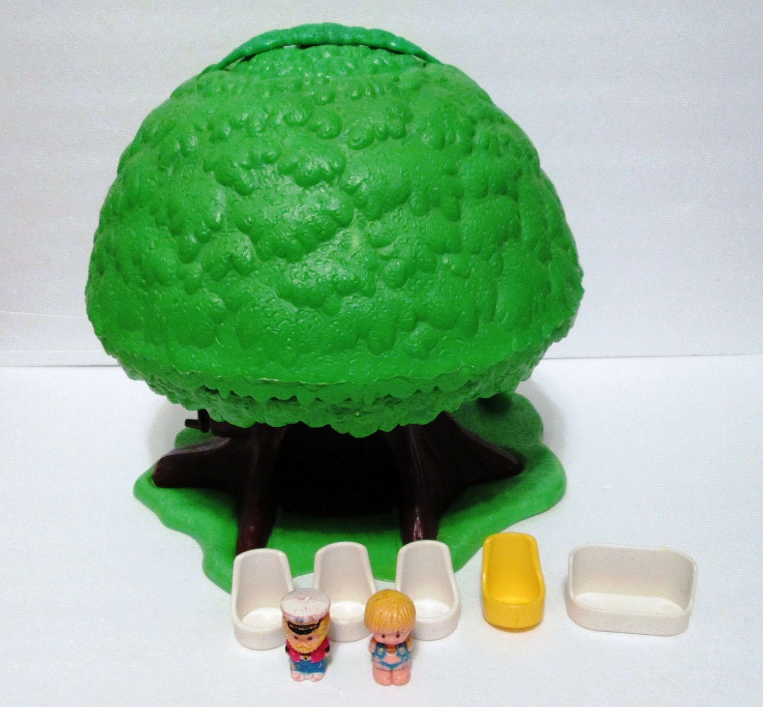 Tlc Vintage Toy 1970s Kenner Tree Tots Family Treehouse With
