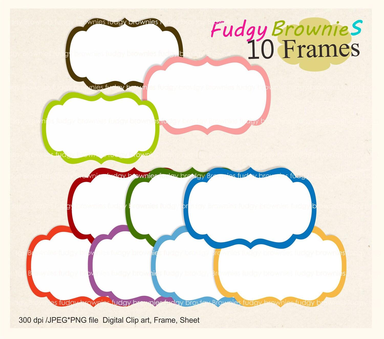 digital clipart frames free - photo #3