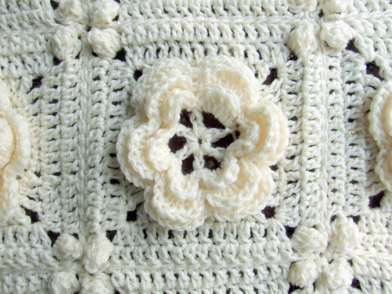 Crochet Pattern Rosanna Granny Square / Afghan Block