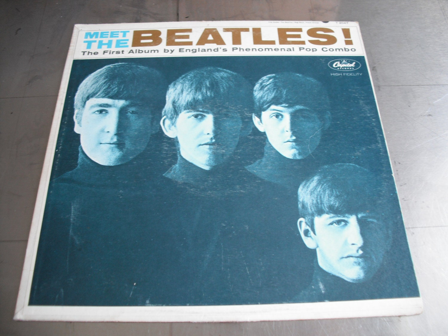 The Beatles Meet The Beatles Capitol Records By Oldgregrecords