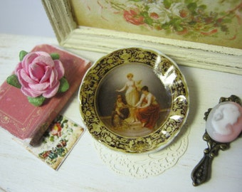 Vienna Plate for Dollhouse
