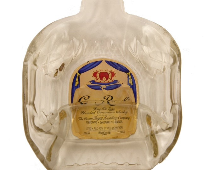 Crown Royal Melted into a DISH OR FLAT to hang