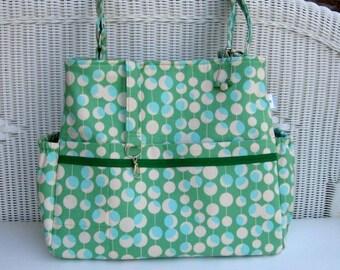 Zoey CUSTOM Diaper Bag and Changing Pad  /  Cross Body Bag