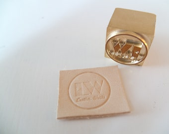 Gift Certificate- Custom Leather Stamp for Arbor Press Stamping / Embossing / Branding Leather