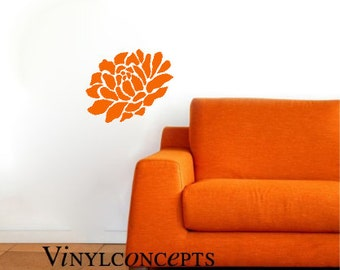 Flower - Vinyl Wall Art