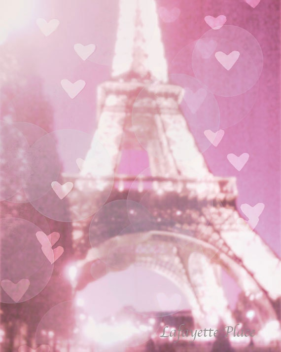 Paris Eiffel Tower Photography Pink Eiffel Tower Photography Pink