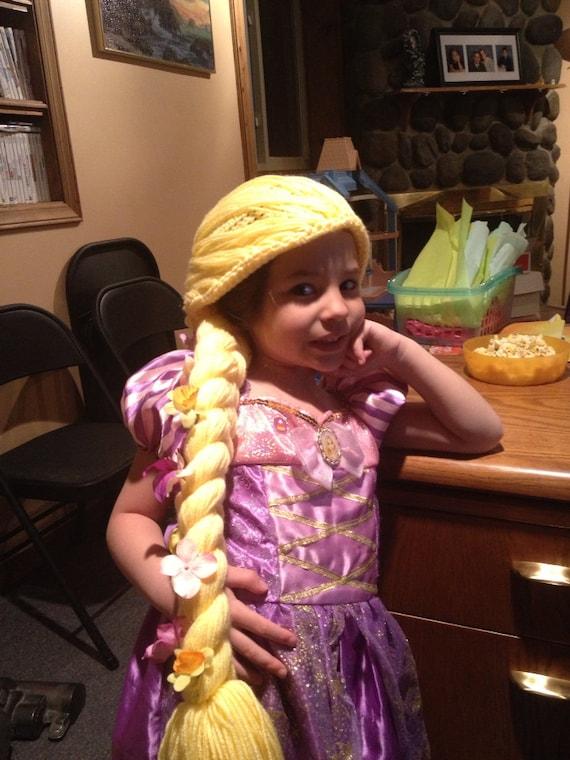 Crochet Rapunzel hat by Phyreangel on Etsy