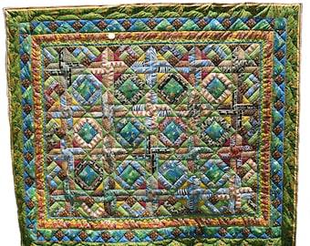 Jungle quilt