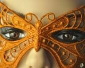 Autumn Harvest Butterfly Mask