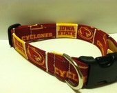 Iowa State Cyclones dog collar..... Your choice of size