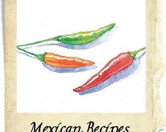 Green Chili. Beef or Pork Mexican Green Chili for Burritos or Enchiladas Recipe PDF