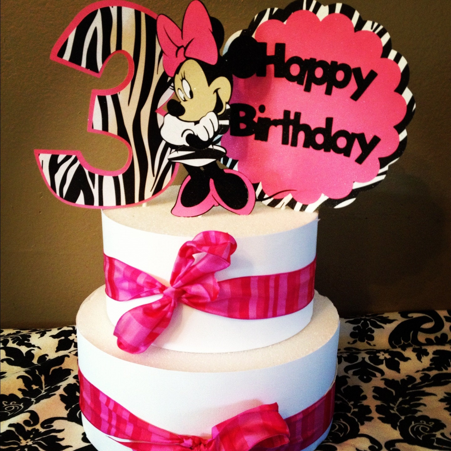 Luxury Minnie Mouse Cake topperminnie Mouse Cake topper Choose