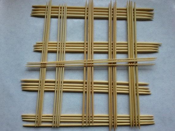 DPN knitting needle set, 14 inch, sizes 0 to 9
