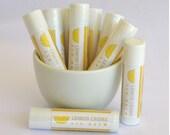Lemon Creme Lip Balm, Natural Lip Balm, Handmade Lip Balm, Olive Oil Lip Balm