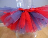N. Powell- Custom Order 2 Tutus- Black/Yellow and Red/Blue