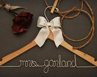 Wedding Hanger for bride or bridesmaid