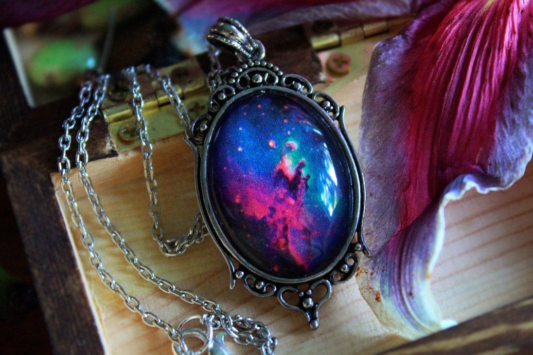 necklaces etsy nebula -#main