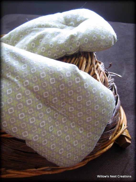 Sweet Orange Eucalyptus Aromatherapy Wrap - Natural Flax Seed Heating & Cold Pad