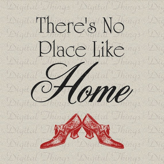 Wizard of OZ Dorothy Theres No Place Like HOME Nursery Decor