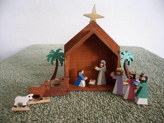 Miniature Nativity Box