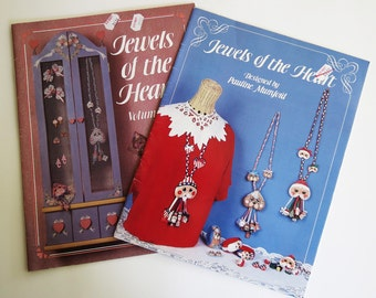 Decorative Painting Wood Jewelry Patterns Booklets
