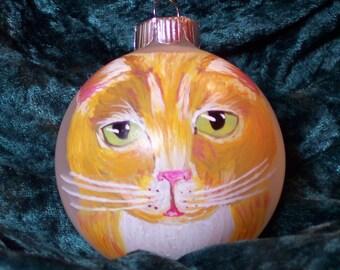 Custom Hand Painted Christmas Ornaments