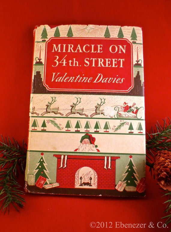 First Edition Valentine Davies Miracle On 34th