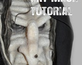 How To Instructional Video 3 Hour Needle Felted Art Mask