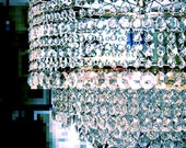 HUGE Two Tier BMX Bicycle Wheel Crystal Chandelier