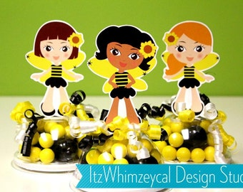 Bumble Bee Bumblebee Birthday Party Favors