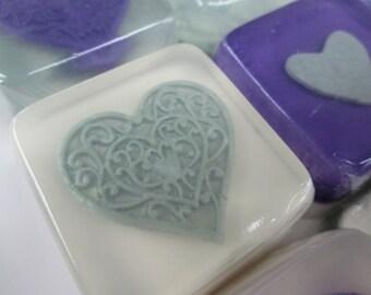 Heart Wedding Favors glycerin soap